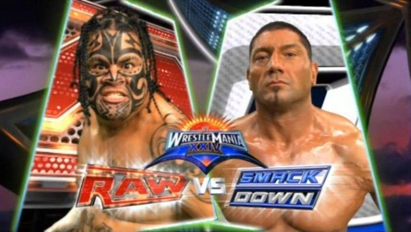 Batista and Umaga had a forgettable encounter at Mania 24