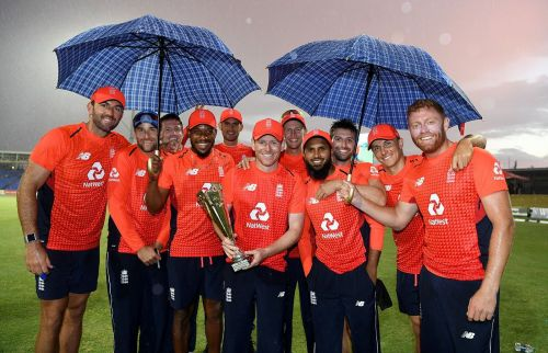 England Win the T-20 Series 3-0 against Windies.