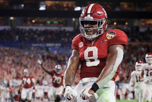 Jacobs was the prime big-play threat for the Crimson Tide