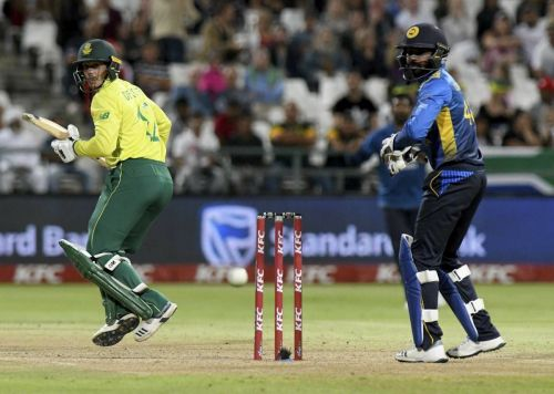 South Africa beat Sri Lanka in the first T20I