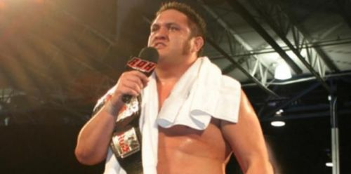 Image result for samoa joe roh champion