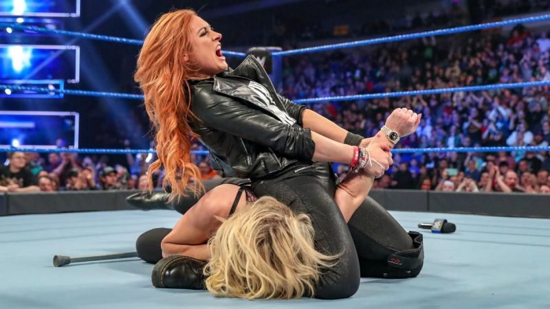 After owning Charlotte Flair on SmackDown, can Becky Lynch defeat her at Fastlane this Sunday?