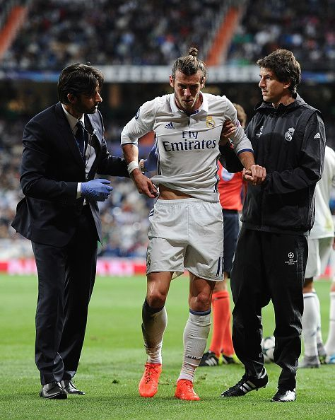 Gareth Bale has a very poor injury record