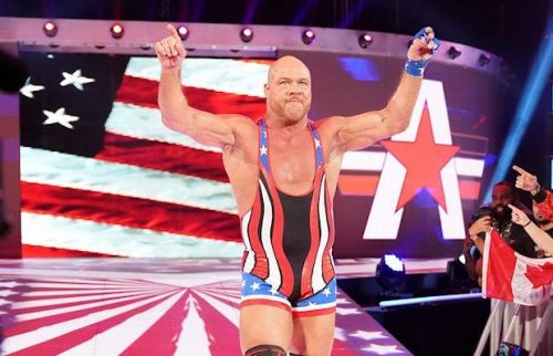 Kurt Angle will be taking it to the ring one final time at WrestleMania 35