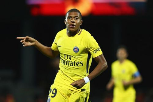 Kylian Mbappe is now just one goal behind Lionel Messi in the race for the European Golden Shoe