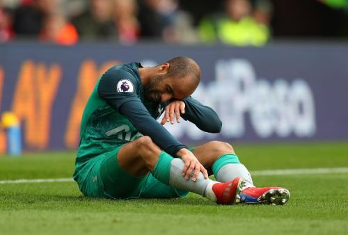 Lucas Moura was ineffective on Saturday