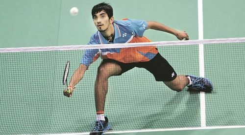 Kidami Srikanth progressed to the 2nd round with relative ease