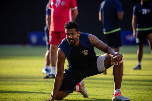Dhanapal Ganesh is included in the squad but the coach was cautious about him playing tomorrow