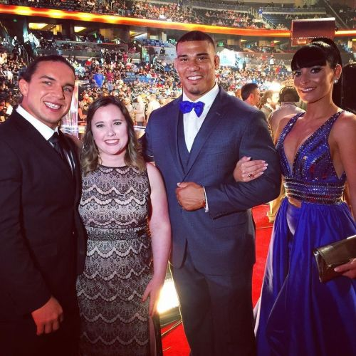 chad gable and jason jordan with their wives