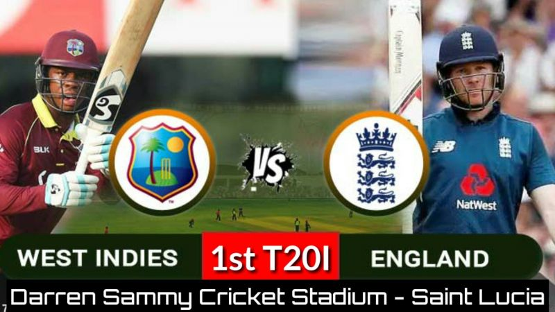 West Indies vs England, 1st T20I : Preview and Predicted