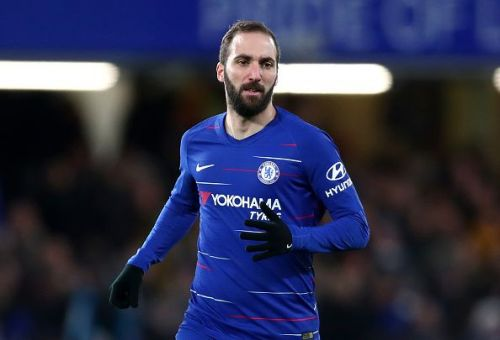 Higuain is the fifth highest paid player in the Premier League