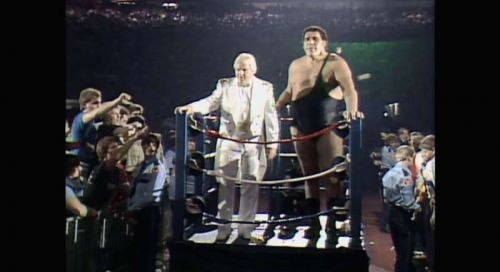 Andrethe Giant with Bobby 'The Brain' Heenan