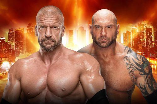 WWE WrestleMania 35 No Holds Barred Match: Dave Bautista vs Triple H