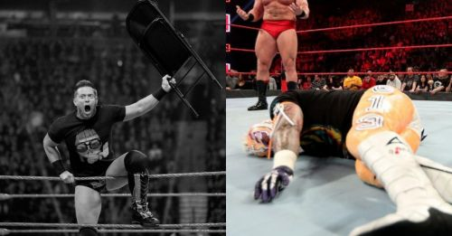 The Miz took revenge while a WWE Legend was destroyed in the ring on RAW