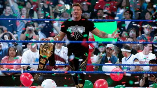 Eddie Guerrero as the WWE Champion