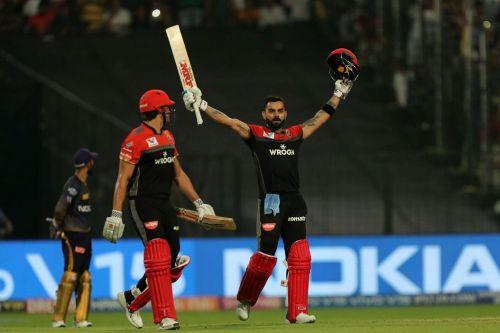Virat Kohli scored an epic century against the Kolkata Knight Knight Riders [Image: BCCI/IPLT20.com]