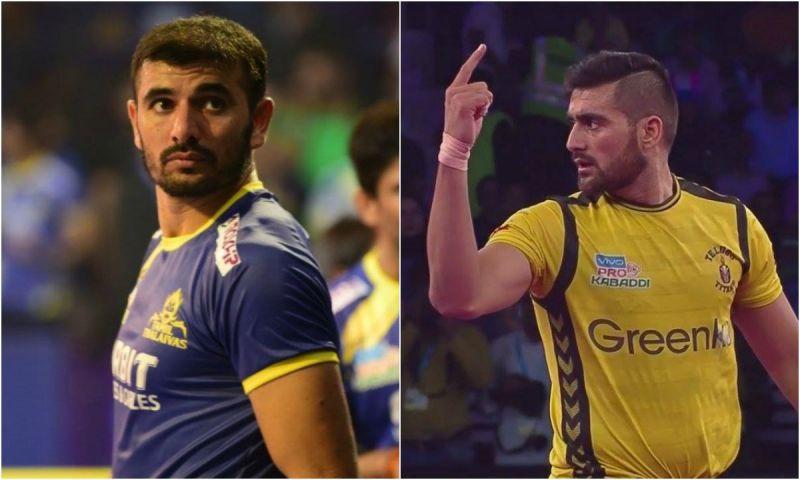 Rahul Chaudhari and Ajay Thakur will play for the same franchise in VIVO Pro Kabaddi League Season 7