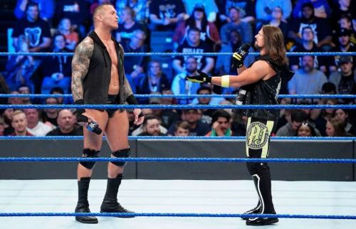 Randy Orton and AJ Styles will finally square off in a highly awaited match
