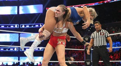 Rousey and Flair are two of the top female stars in WWE