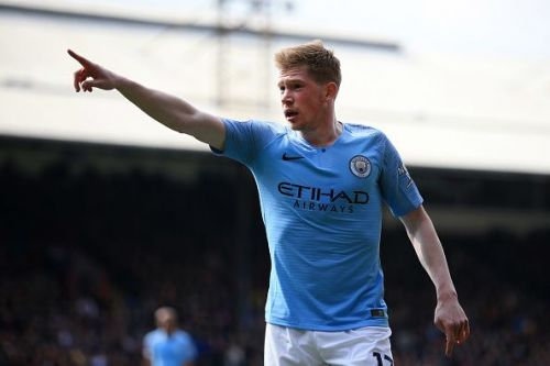 De Bruyne will be crucial to City's hopes