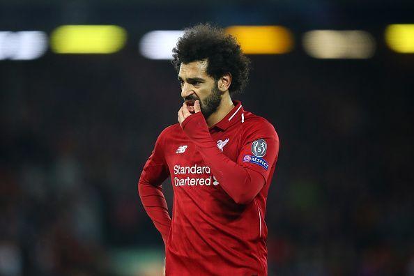 Mohamed Salah drew blank once again