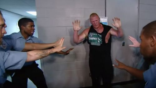 Lesnar has a history of being tough to work with