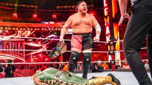 Samoa Joe squashed Rey Mysterio at WrestleMania 35!