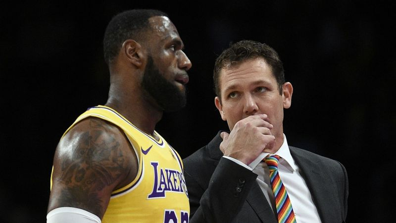 a56d54ca317 Lakers part company with Luke Walton  Tyronn Lue reportedly frontrunner for  job