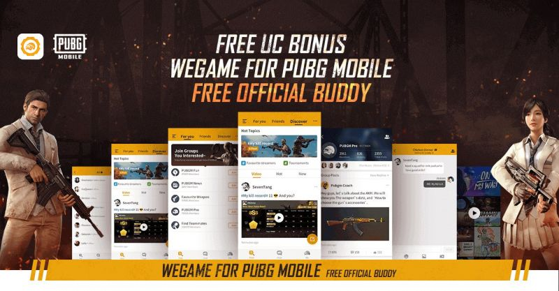Get 7000UC officially from PUBG Mobile!