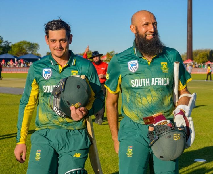 Quinton de Kock and Hashim Amla have been a formidable opening partnership for the Proteas