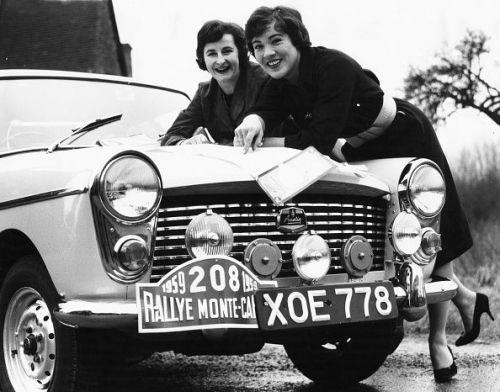 Pat Moss And Ann Wisdom