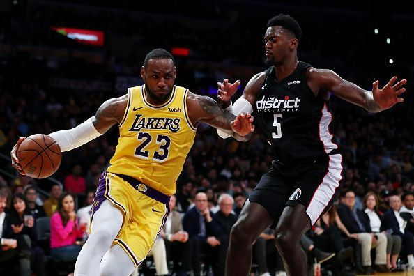0c6b0f2af88 LeBron James  first season with the Los Angeles Lakers has been  disappointing