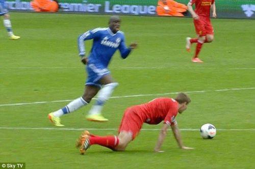 Steven Gerrard's slip was the stuff of nightmares for Liverpool fans.