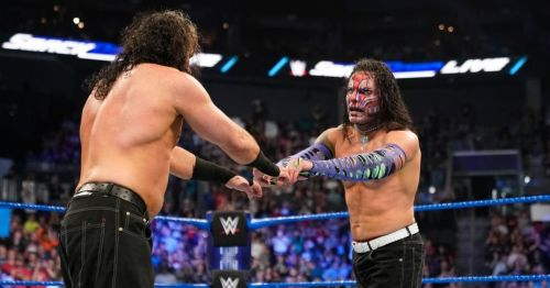 Matt Hardy & Jeff Hardy are the reigning WWE SmackDown Tag Team Champions