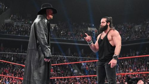 There was no room for The Undertaker at this years WrestleMania