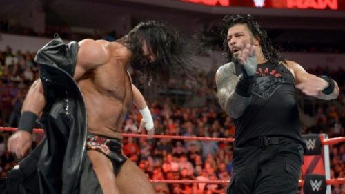 Roman Reigns could beat Drew McIntyre cleanly