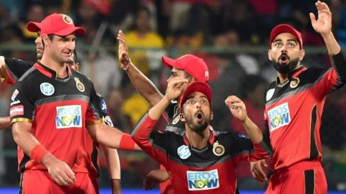 'RCB' team yet to open their Account in the Points table.