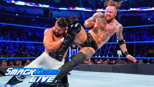 Andrade and Aleister Black