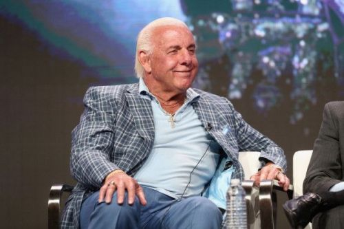 Ric Flair was brutally attacked by Batista on Raw