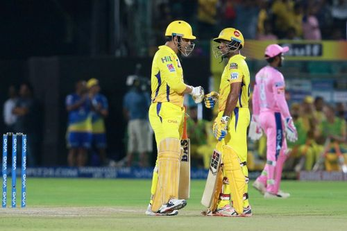 MS Dhoni and Rayudu helped CSK register a memorable 4 wicket win [Image: BCCI/IPLT20.com]