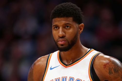Paul George is a doubt for the Oklahoma City Thunder