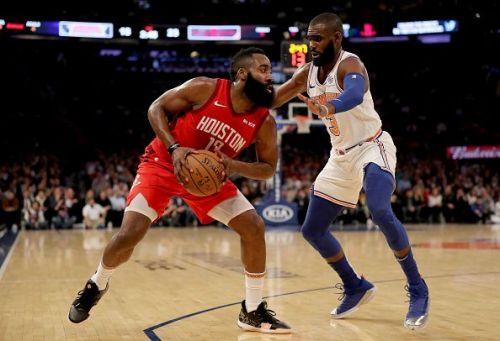 Houston Rockets v New York Knicks San Antonio Spurs v New York Knicks