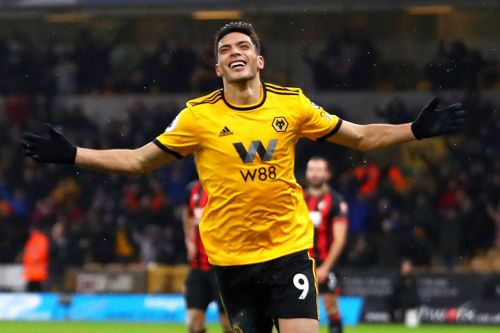 Raul Jimenez has been involved in 20 goals this season for Wolves