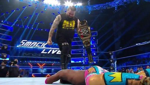 The biggest talking point from the last SmackDown Live episode