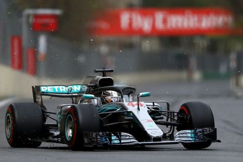 There's nothing that the Mercedes driver cannot do in F1, it seems