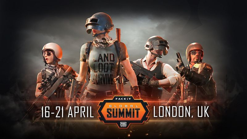 The FACEIT PUBG global summit.