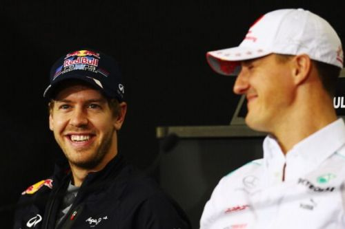 Vettel and Schumacher happen to be, without a doubt, among the Top 5 German F1 drivers of all time