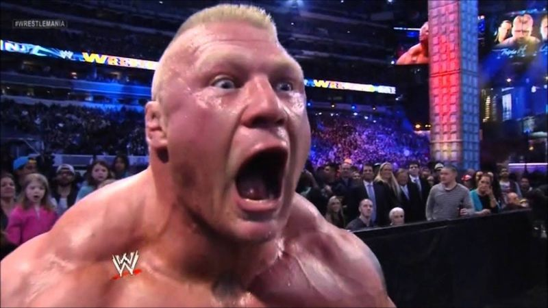 Brock Lesnar is a dominant force in WWE