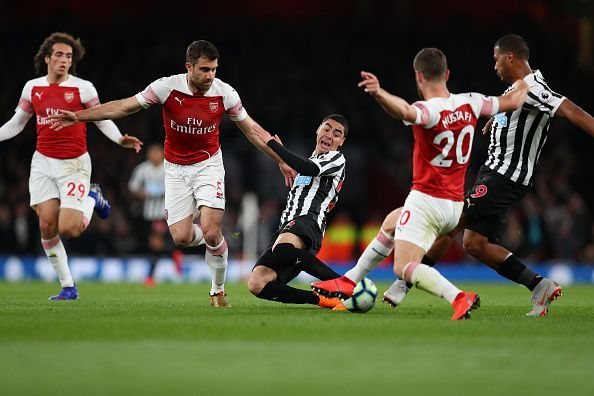 A lot will depend on how Mustafi and Sokratis deal with the Napoli attack.