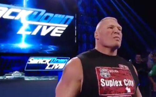 Could Brock Lesnar finally return to the blue brand again?